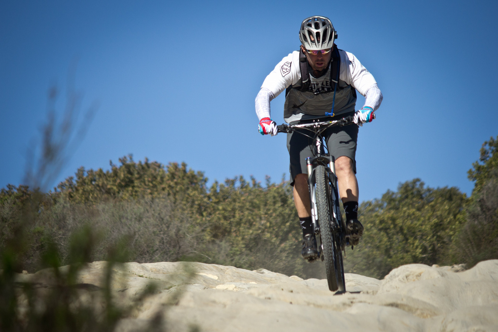 Jeremy McGrath - Specialized A1 Ride Daze - In Memory of Burry Stander - Mountain Biking Pictures - Vital MTB