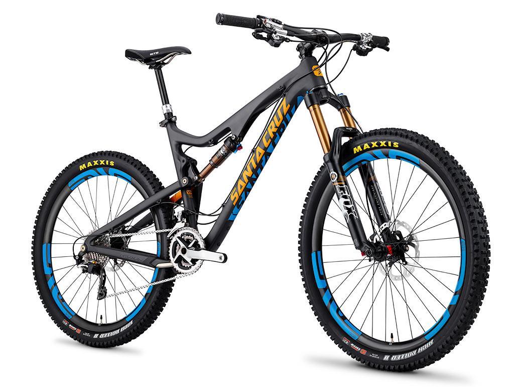 Santa Cruz Bronson-Carbon - Introducing the 27.5-Inch Santa Cruz Bronson - Mountain Biking Pictures - Vital MTB