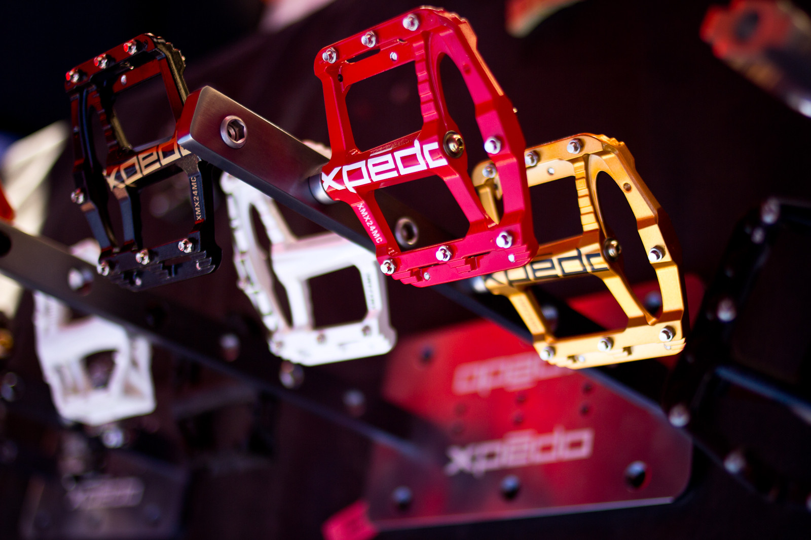 Xpedo Spry Flat Pedals - Sea Otter Classic - 2013 Sea Otter Classic Pit Bits - 1st Edition - Mountain Biking Pictures - Vital MTB