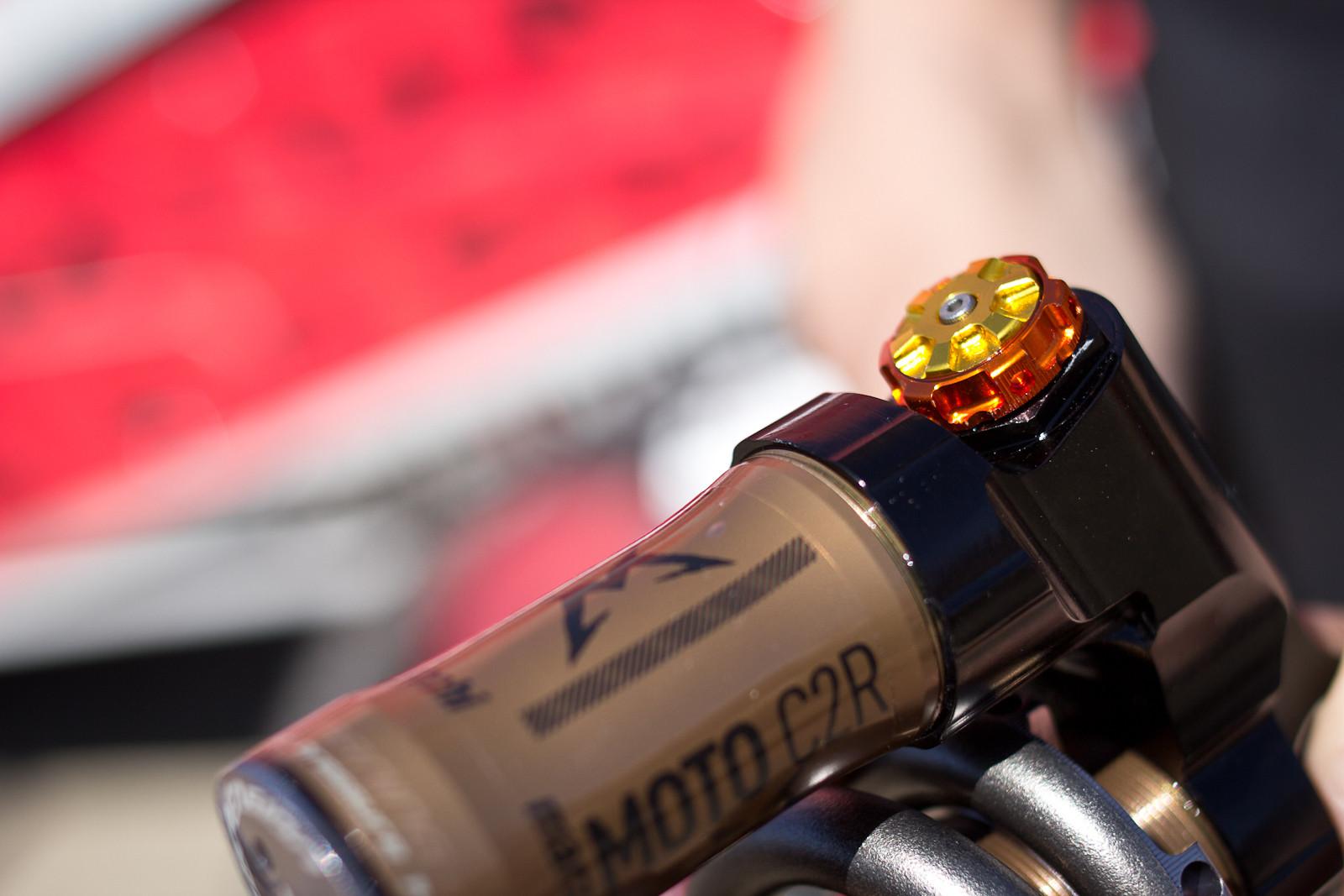 Marzocchi Moto C2R Shock - Sea Otter Classic - 2013 Sea Otter Classic Pit Bits - 1st Edition - Mountain Biking Pictures - Vital MTB