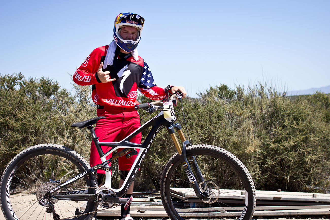 Aaron Gwin's Winning Ride - Specialized Enduro 29er - 2013 Sea Otter Pro Downhill Bikes - Mountain Biking Pictures - Vital MTB