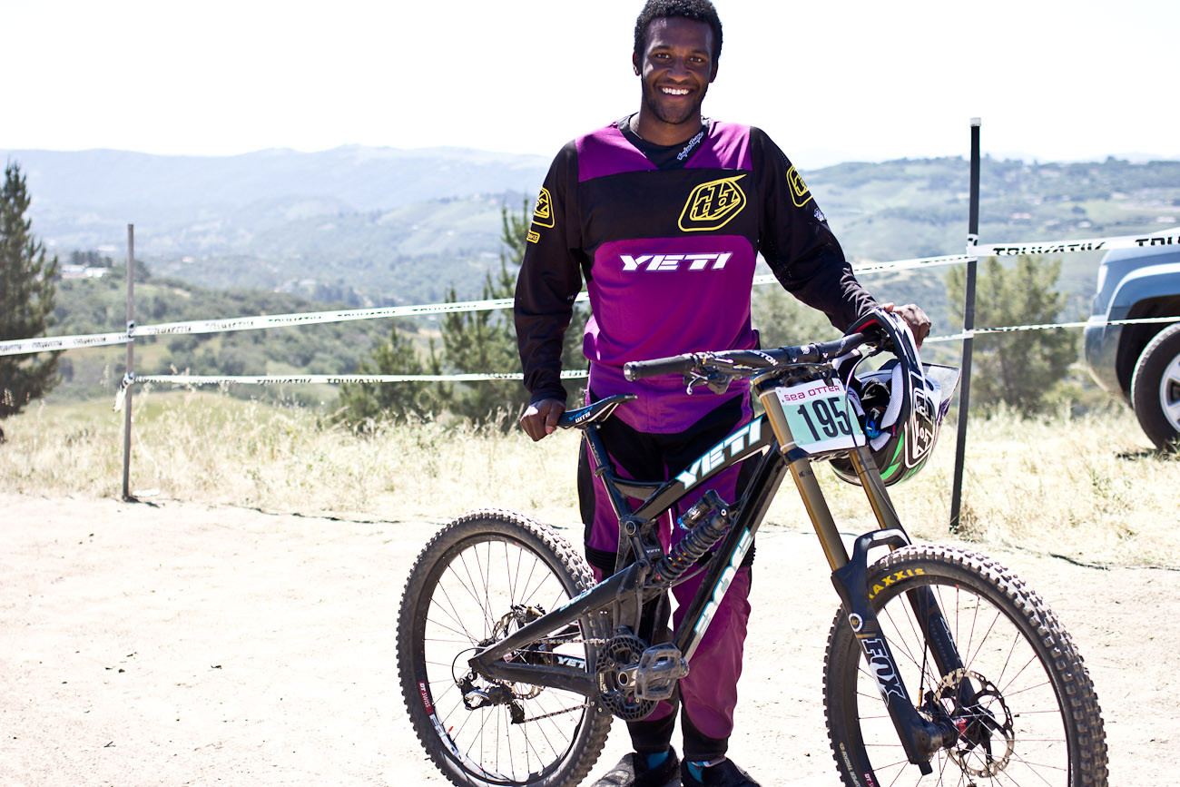 Eliot Jackson's Yeti 303WC - 2013 Sea Otter Pro Downhill Bikes - Mountain Biking Pictures - Vital MTB