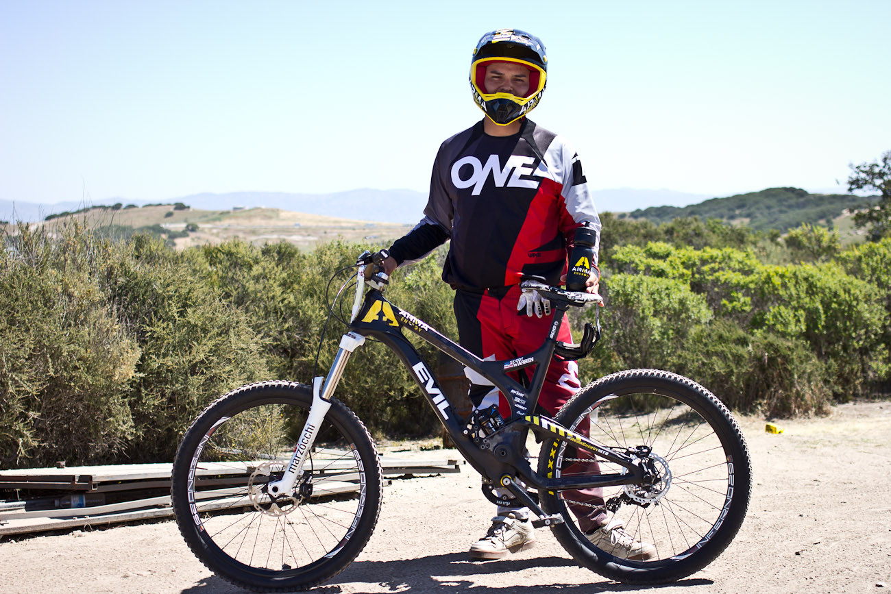Cody Warren's Arma/Evil Uprising - 2013 Sea Otter Pro Downhill Bikes - Mountain Biking Pictures - Vital MTB