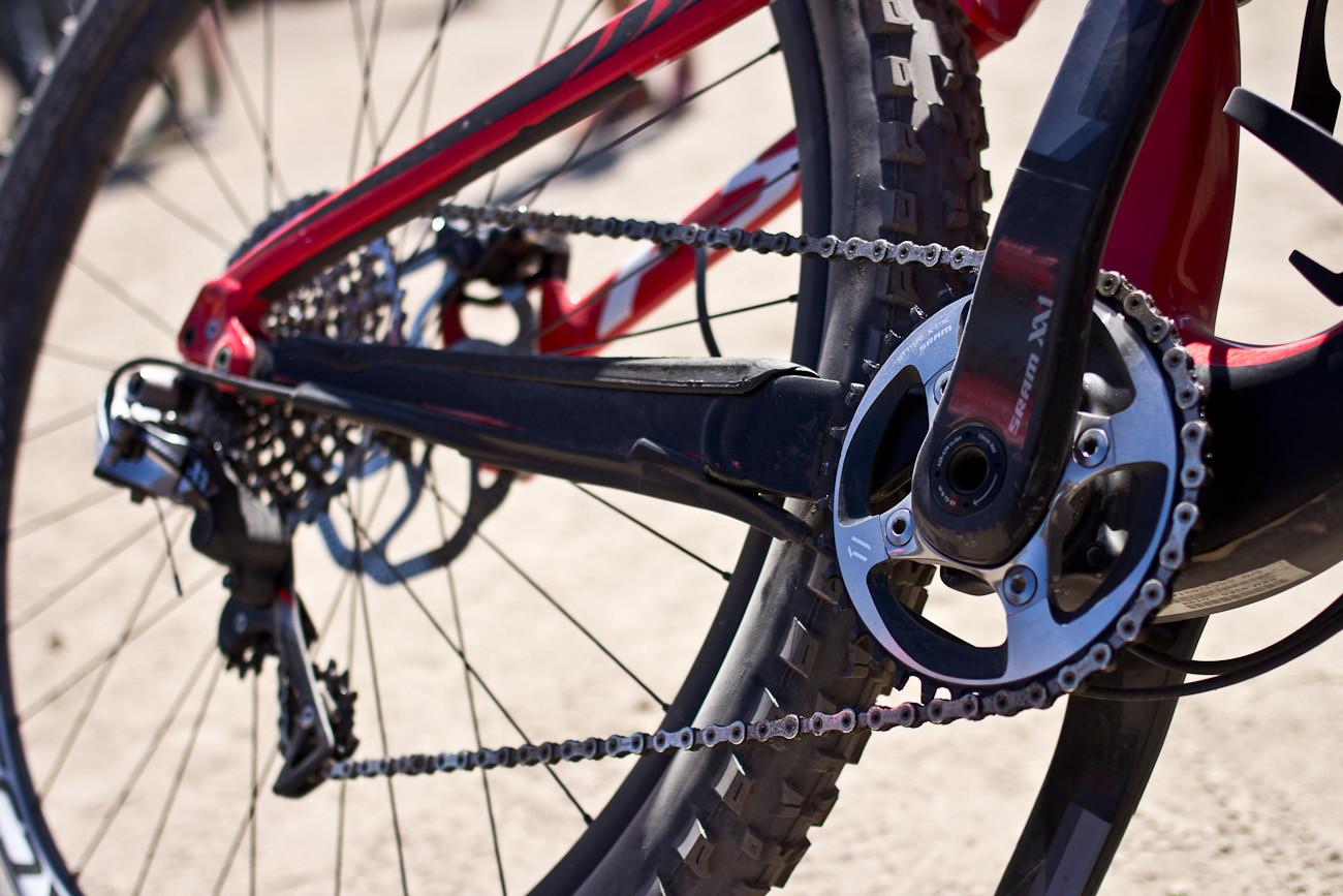 Curtis Keene's Specialized Enduro 29er - 2013 Sea Otter Pro Downhill Bikes - Mountain Biking Pictures - Vital MTB