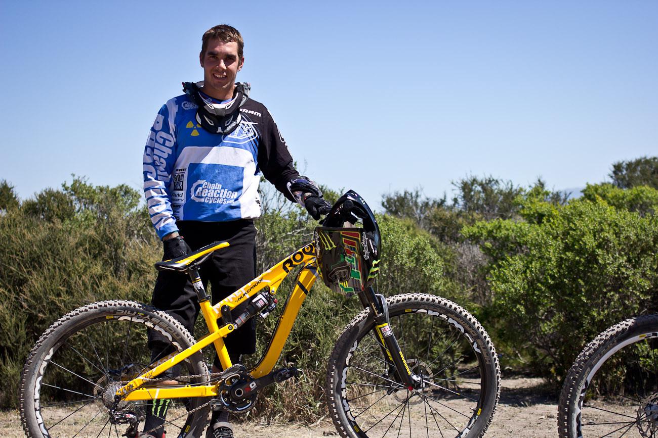 Sam Hill's Nukeproof Rook - 2013 Sea Otter Pro Downhill Bikes - Mountain Biking Pictures - Vital MTB