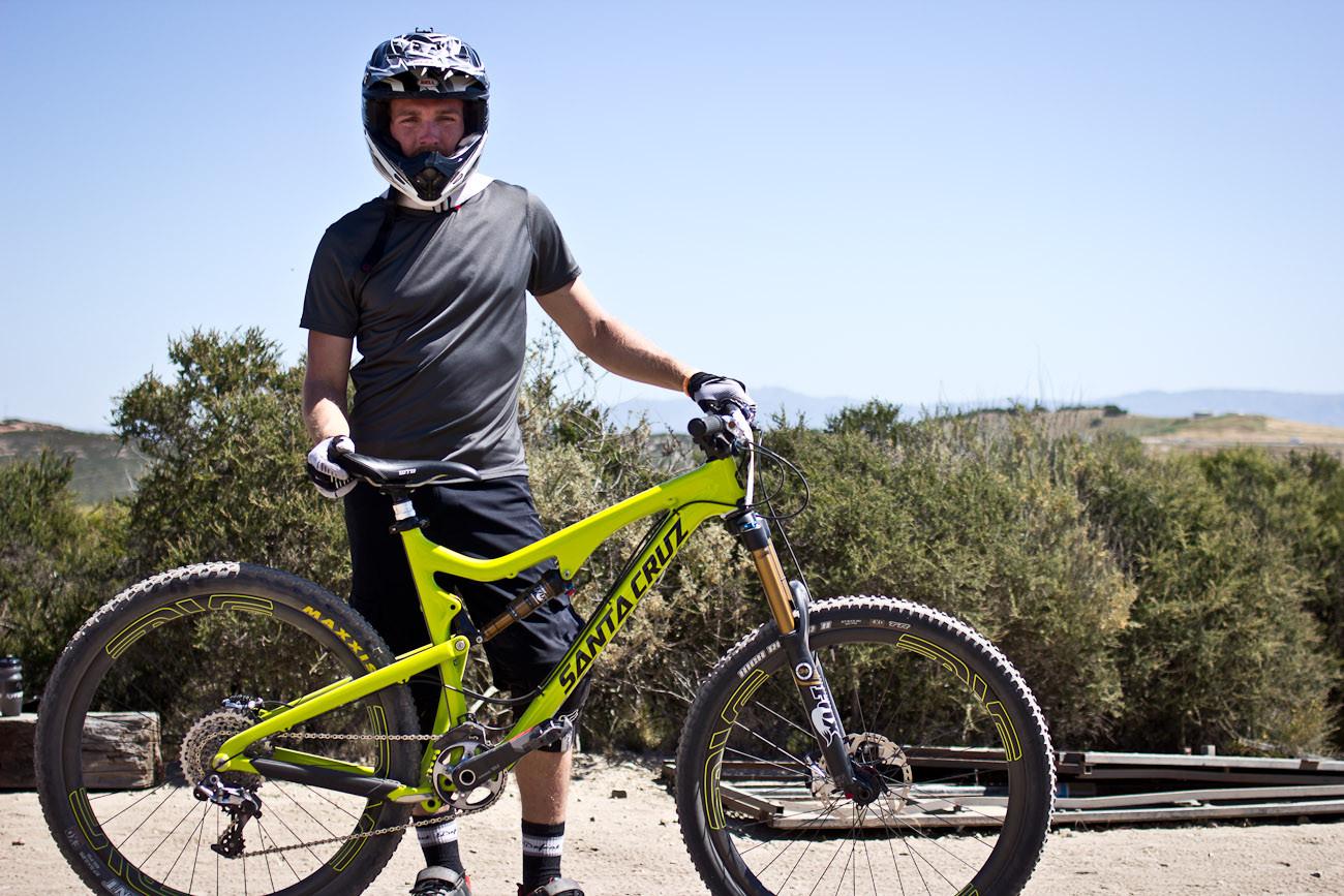 Evan Turpen's Santa Cruz Bronson - 2013 Sea Otter Pro Downhill Bikes - Mountain Biking Pictures - Vital MTB