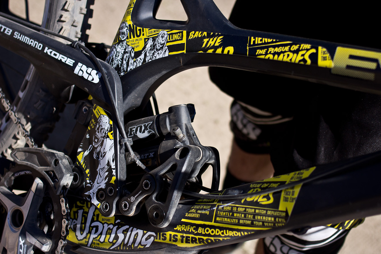 Luke Strobel's Evil Uprising - 2013 Sea Otter Pro Downhill Bikes - Mountain Biking Pictures - Vital MTB