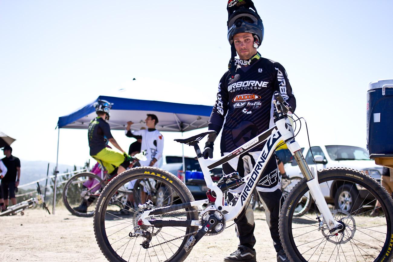 Barry Nobles's Airborne Toxin - 2013 Sea Otter Pro Downhill Bikes - Mountain Biking Pictures - Vital MTB