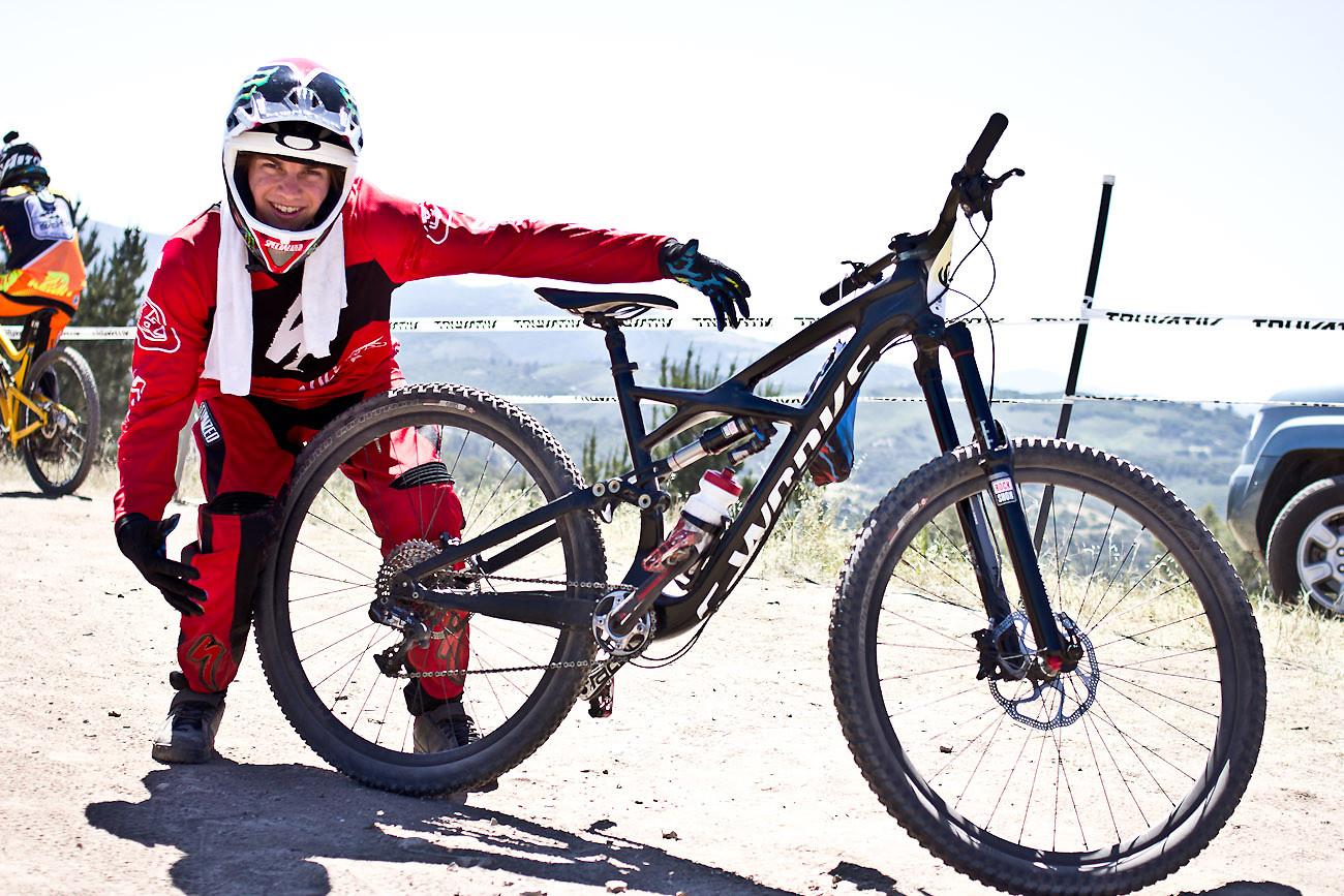 Mitch Ropelato's Specialized Enduro 29er - 2013 Sea Otter Pro Downhill Bikes - Mountain Biking Pictures - Vital MTB