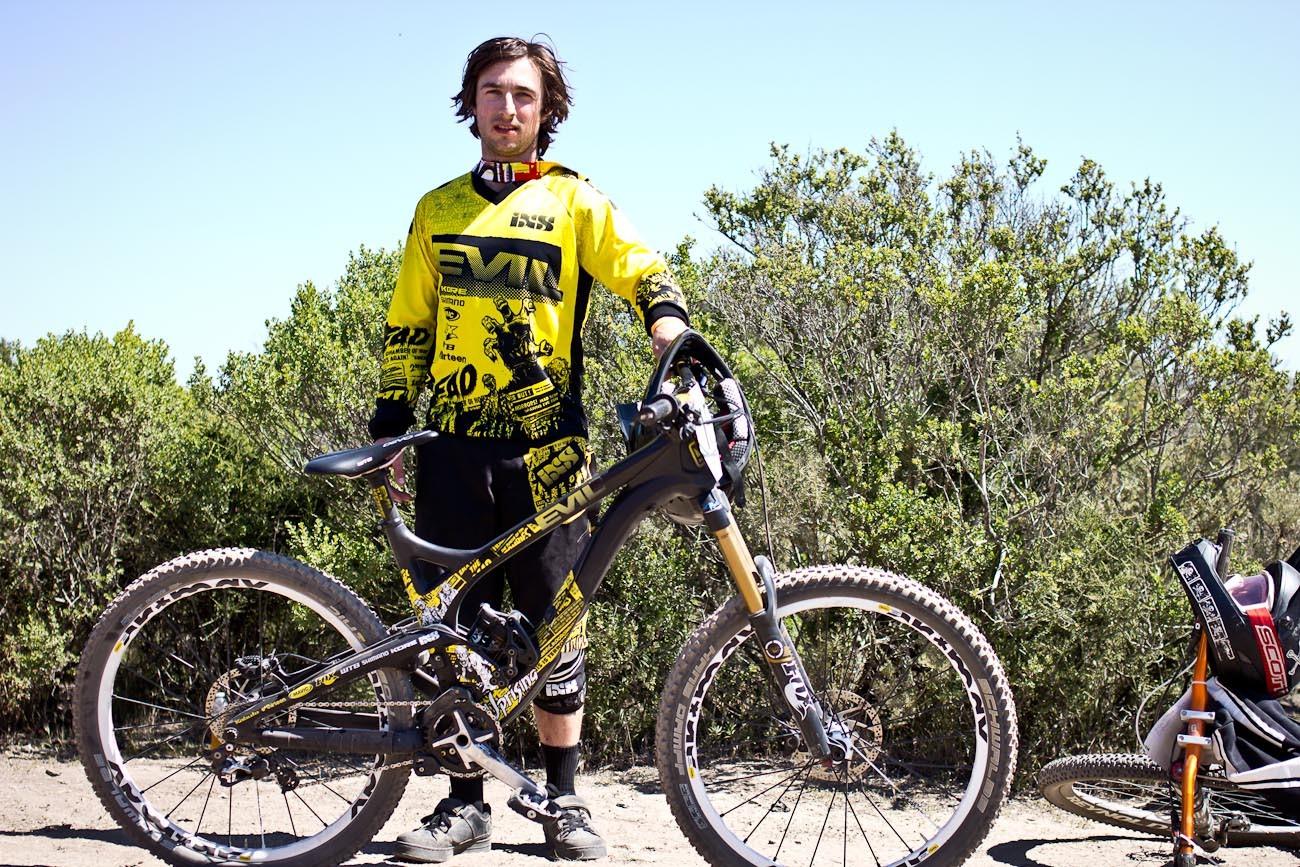 Luke Strobel's Evil Uprising - 2013 Sea Otter Pro Downhill Bikes - Mountain Biking Pictures - Vital MTB