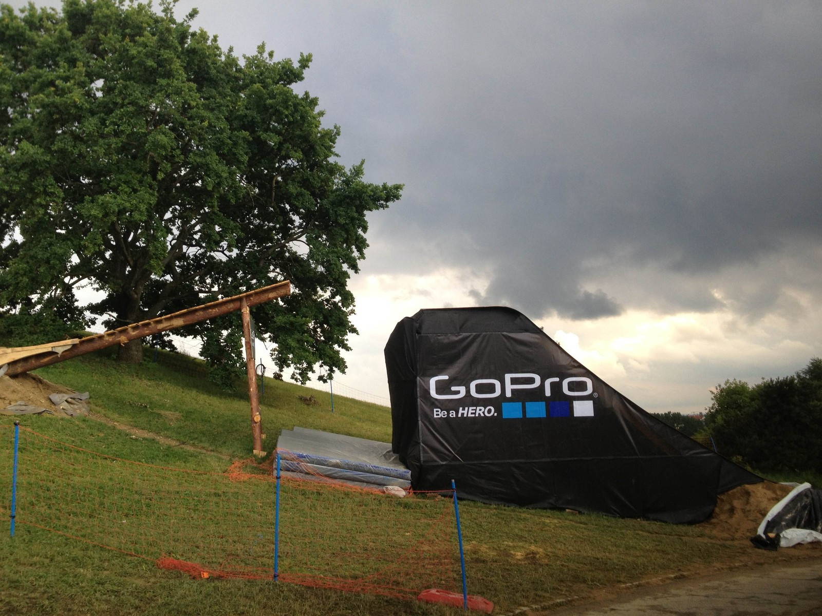 2013 X Games MTB Slopestyle Ladder Feature - All Things X-Games Munich Slopestyle - Mountain Biking Pictures - Vital MTB
