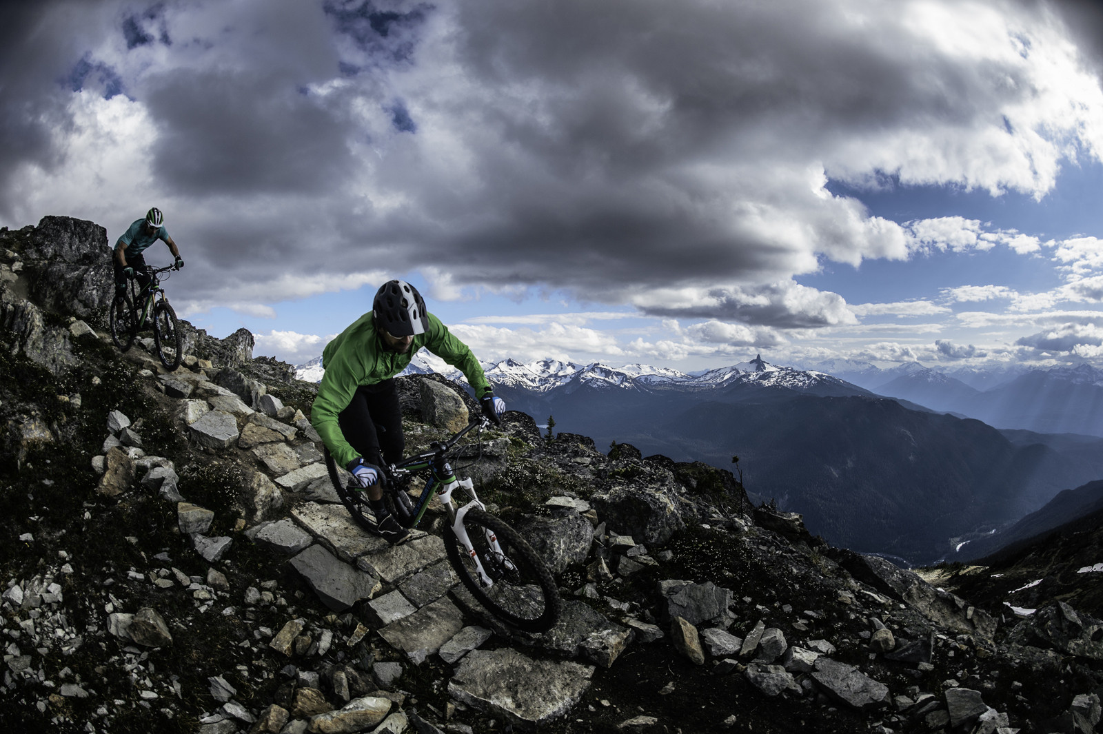 Check Out that Backdrop - First Look: 2014 Rocky Mountain Altitude Rally Edition - Get Rowdy! - Mountain Biking Pictures - Vital MTB