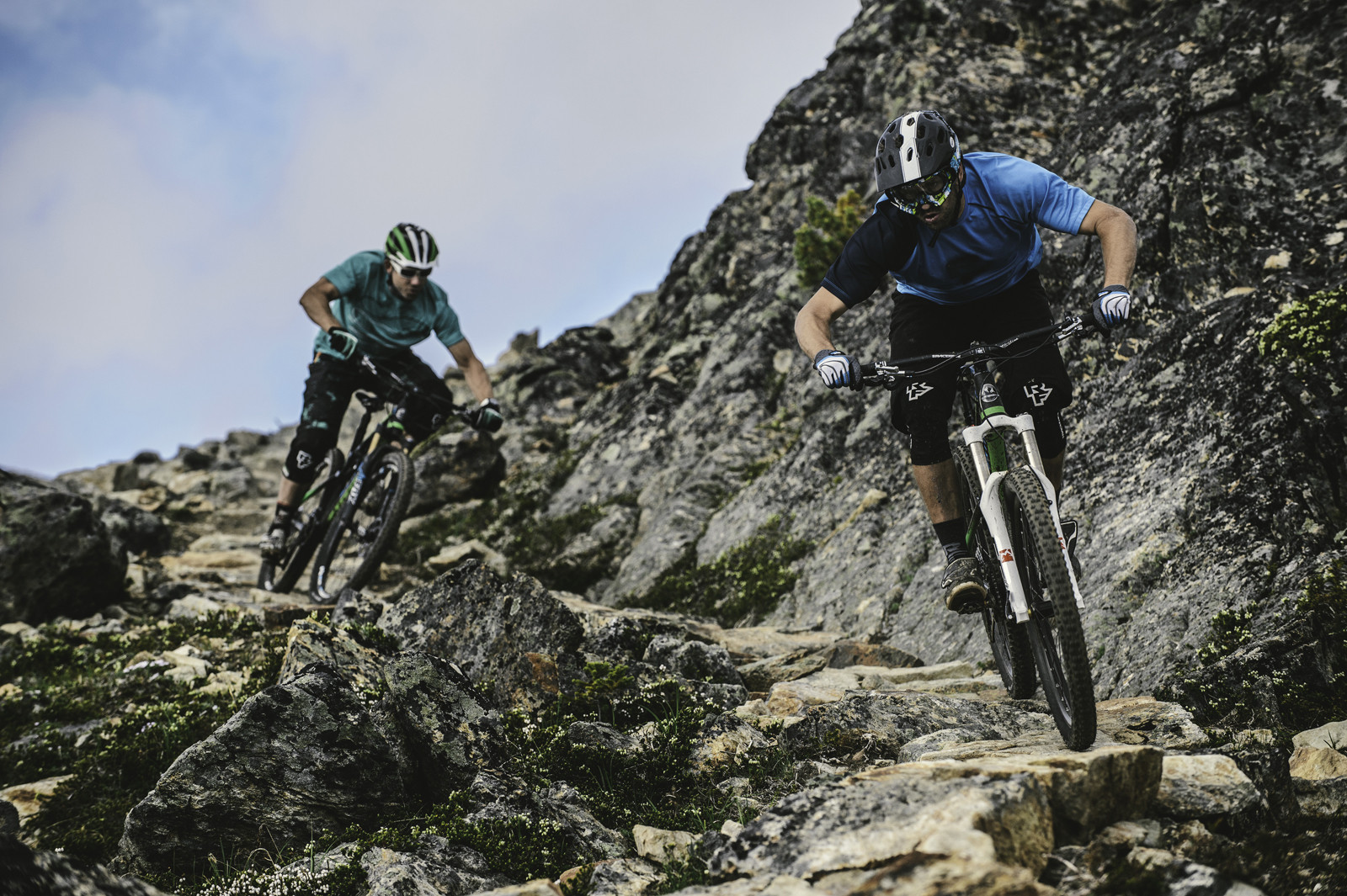 Wade Simmons and Andreas Hessler - First Look: 2014 Rocky Mountain Altitude Rally Edition - Get Rowdy! - Mountain Biking Pictures - Vital MTB