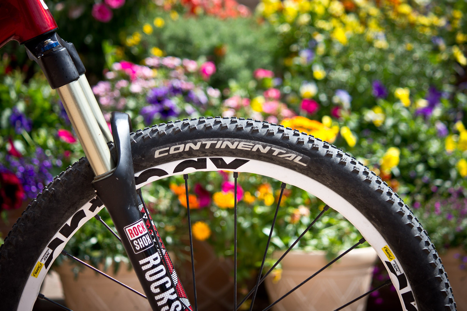 RockShox Argyle Fork - Winning Bike: Martin Söderström's Specialized P.Slope - Mountain Biking Pictures - Vital MTB
