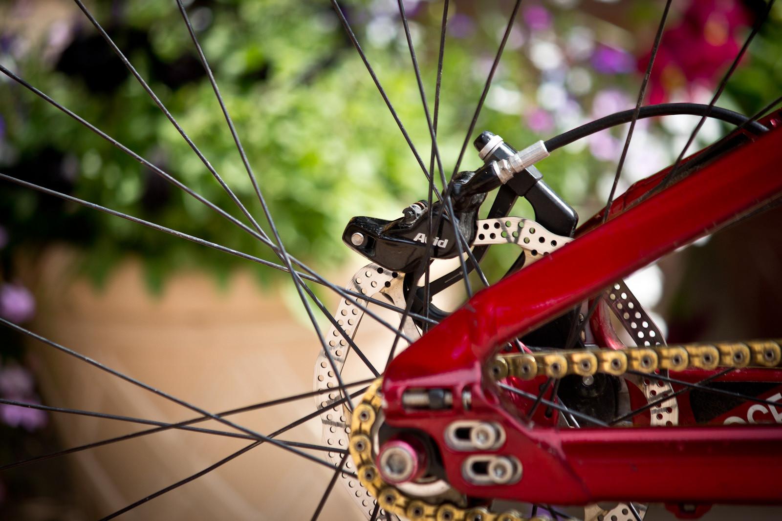 Avid X0 Trail Brakes - Winning Bike: Martin Söderström's Specialized P.Slope - Mountain Biking Pictures - Vital MTB