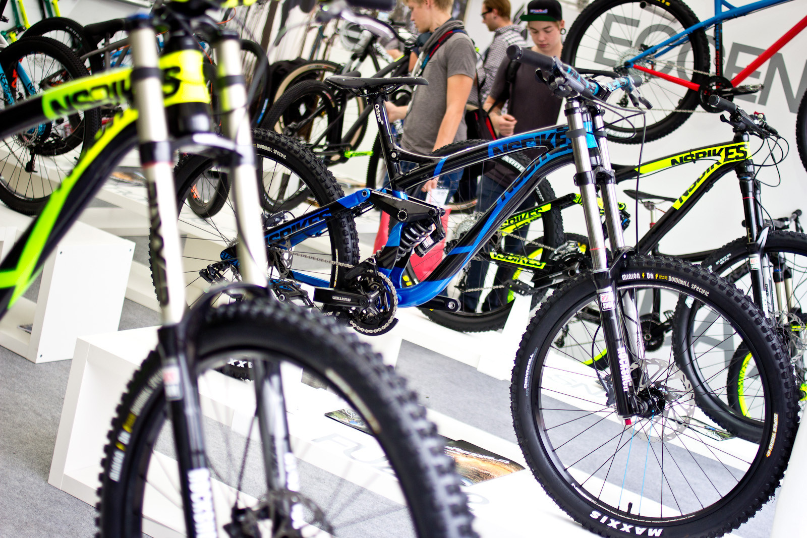 2014 NS Fuzz DH Bike - 2014 Downhill Bikes at Eurobike 2013 - Mountain Biking Pictures - Vital MTB