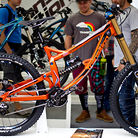 Redesigned 2014 Transition TR450 Prototype DH Bike