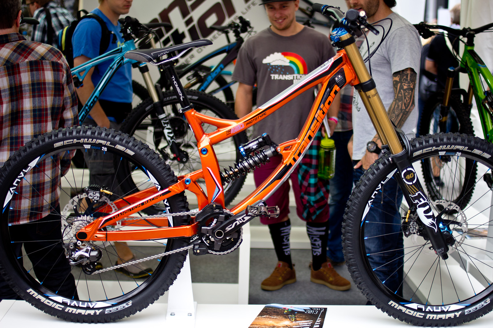 Redesigned 2014 Transition Tr450 Prototype Dh Bike 2014