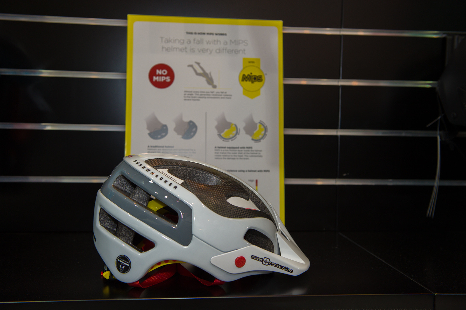 Sweet Protection Bushwhacker Carbon Helmet - 2014 Mountain Bike Apparel & Protection at Eurobike 2013 - Mountain Biking Pictures - Vital MTB