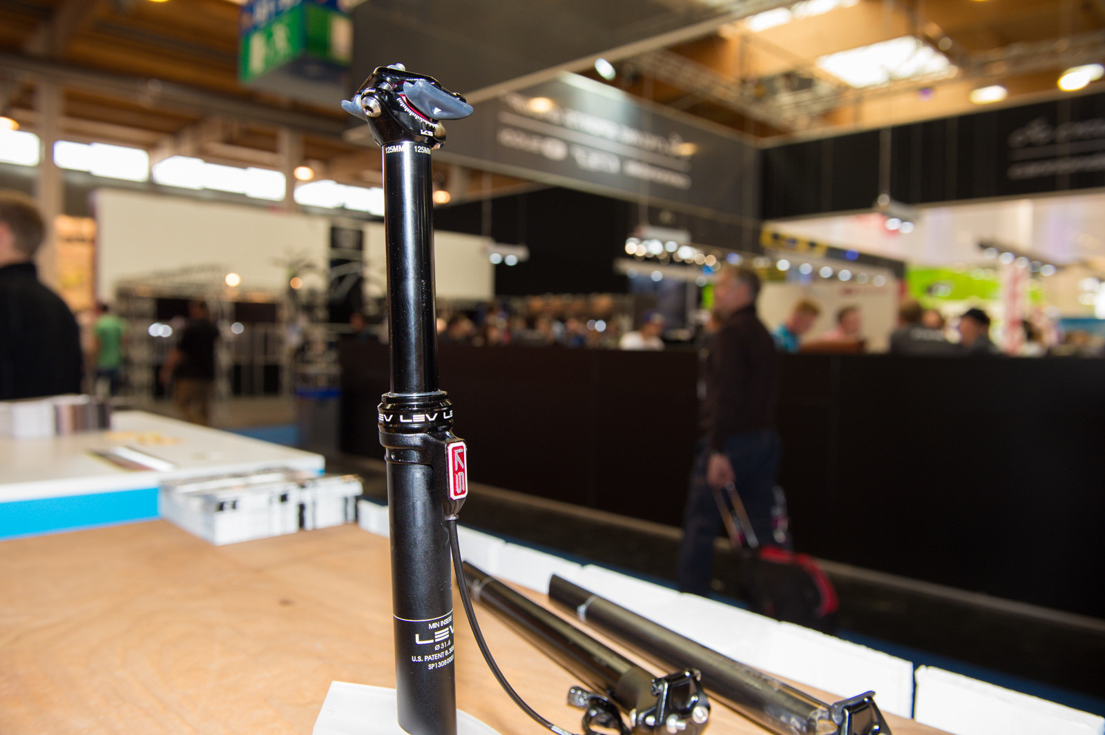 KS LEV - 2014 Mountain Bike Components at Eurobike 2013 - Mountain Biking Pictures - Vital MTB