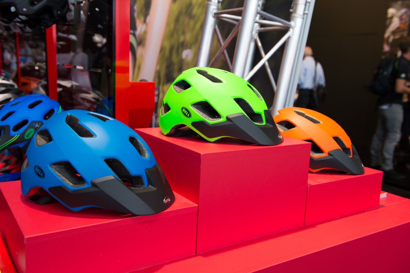 Bell Stoker Helmet - 2014 Mountain Bike Apparel & Protection at Eurobike 2013 - Mountain Biking Pictures - Vital MTB