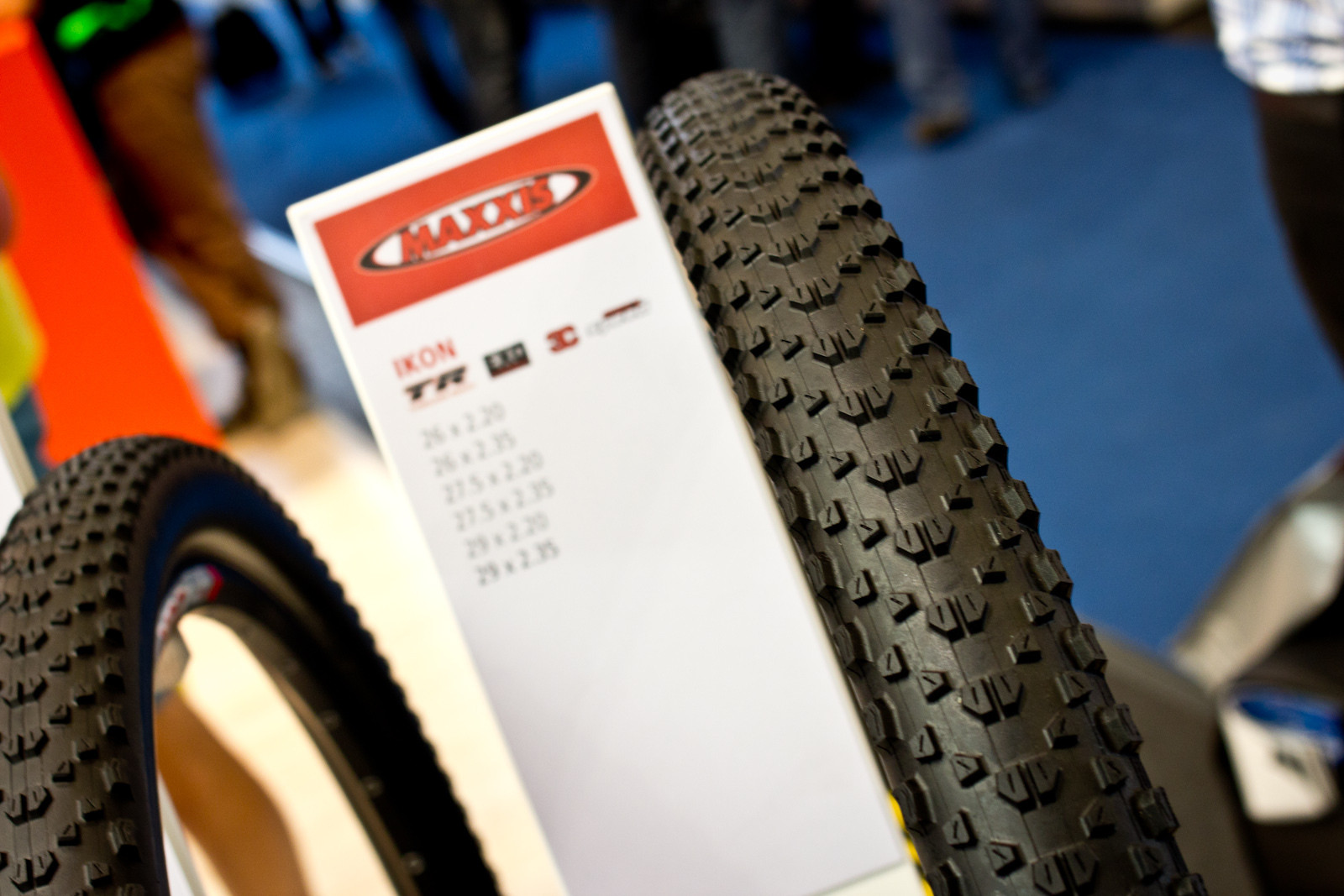 Maxxis Ikon in 29x2.35 - 2014 Mountain Bike Components at Eurobike 2013 - Mountain Biking Pictures - Vital MTB