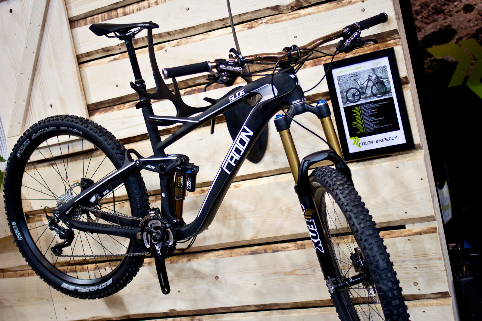2014 Radon Slide 160 Carbon - 2014 Trail, All-Mountain & Enduro Bikes at Eurobike 2013 - Mountain Biking Pictures - Vital MTB