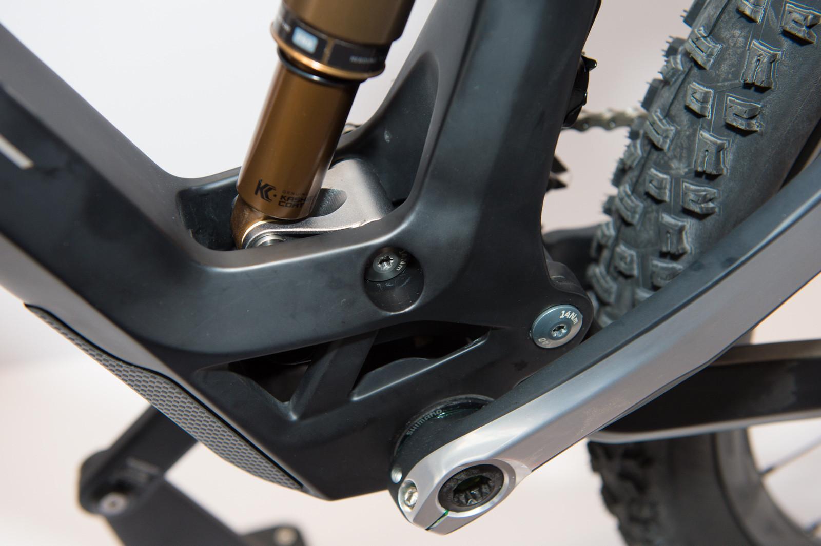 2014 Ghost Riot Suspension Close Up - 2014 Trail, All-Mountain & Enduro Bikes at Eurobike 2013 - Mountain Biking Pictures - Vital MTB