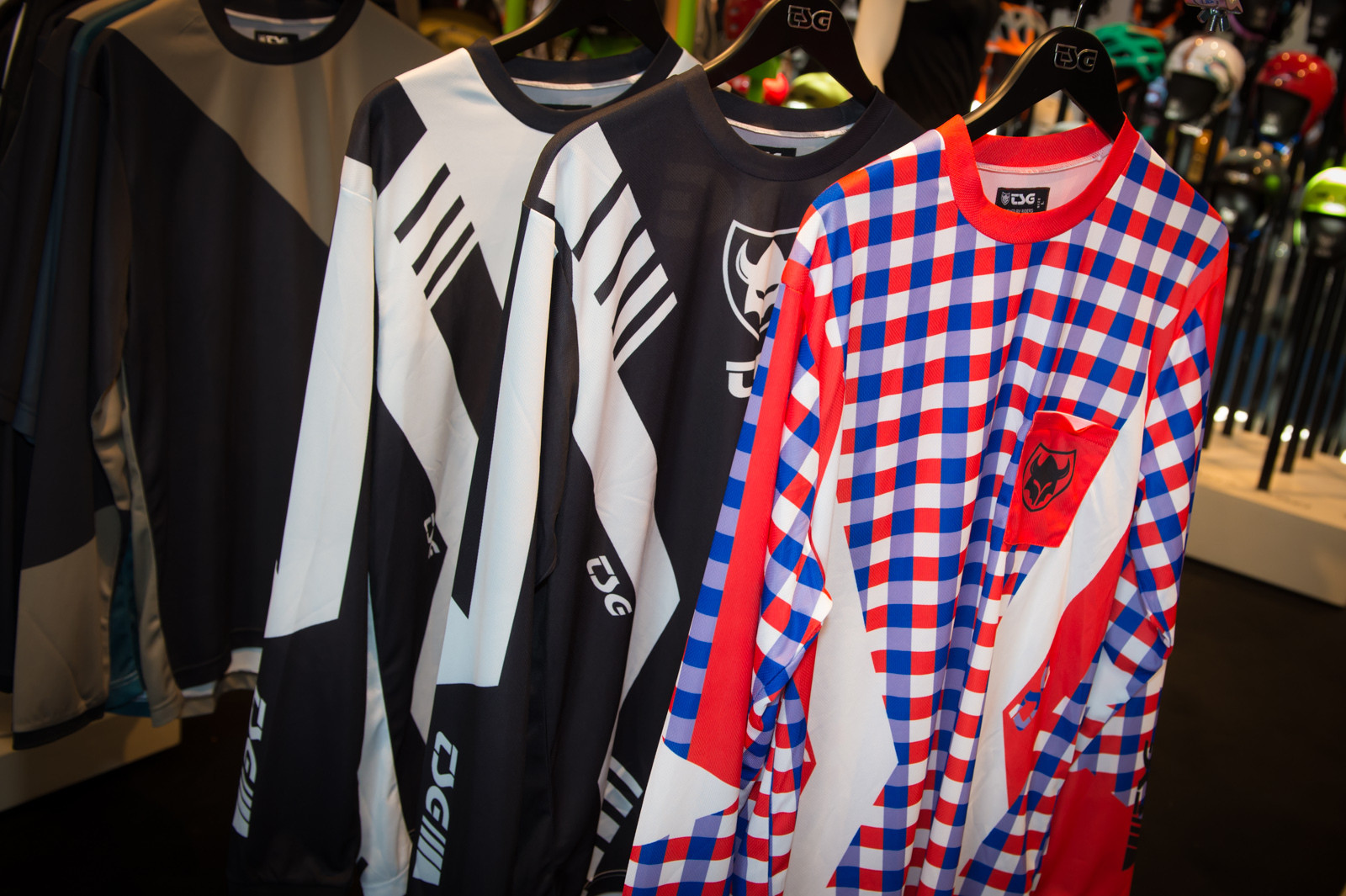 TSG Race Jersey - 2014 Mountain Bike Apparel & Protection at Eurobike 2013 - Mountain Biking Pictures - Vital MTB