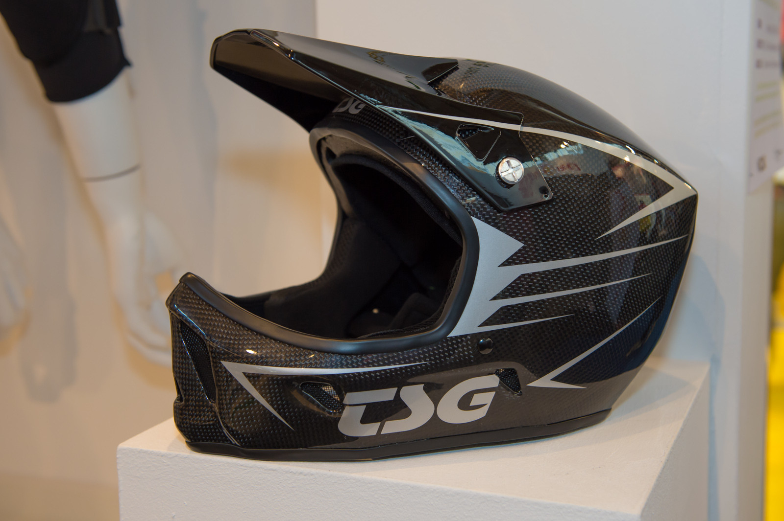 TSG Advance Carbon Full-Face Helmet - 2014 Mountain Bike Apparel & Protection at Eurobike 2013 - Mountain Biking Pictures - Vital MTB