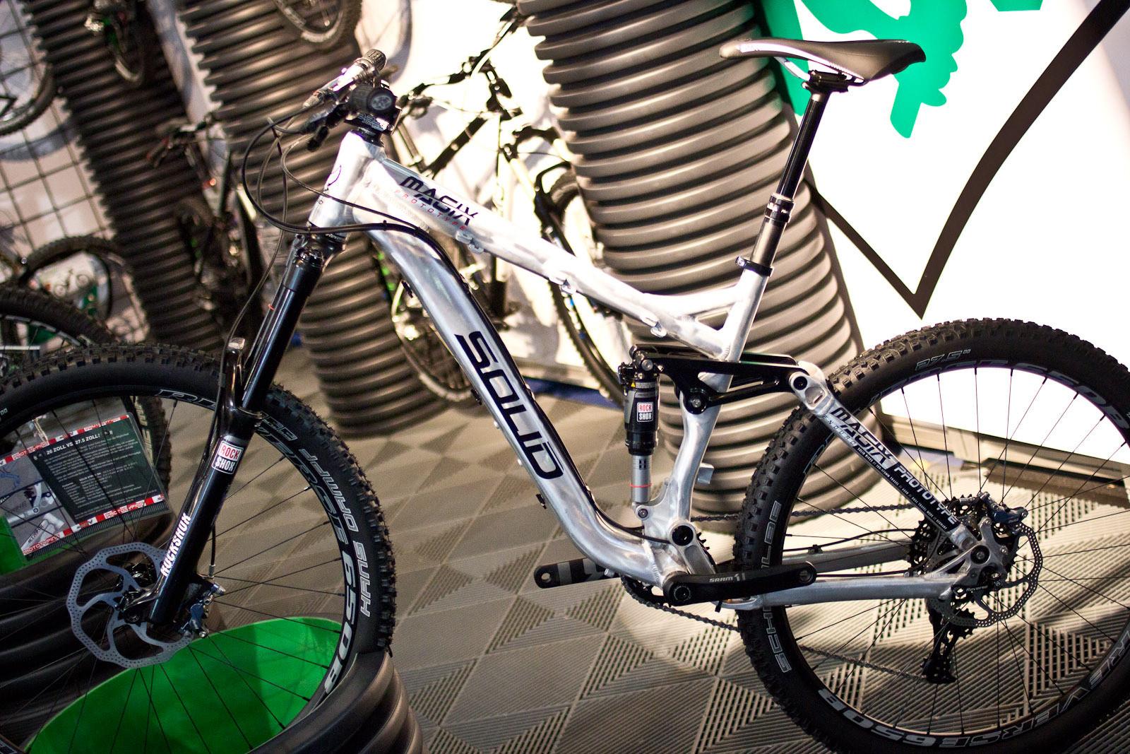2014 Solid Magix Enduro Prototype - 2014 Trail, All-Mountain & Enduro Bikes at Eurobike 2013 - Mountain Biking Pictures - Vital MTB