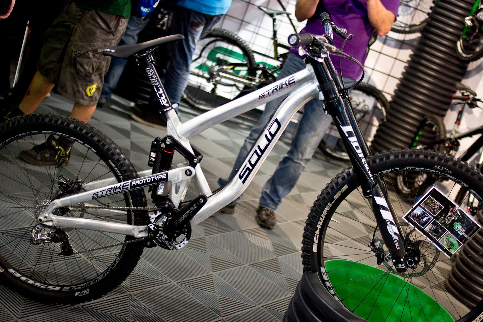 One Dozen New and Prototype 2014 Downhill Bikes: Solid Strike  - 2014 Downhill Bikes at Eurobike 2013 - Mountain Biking Pictures - Vital MTB