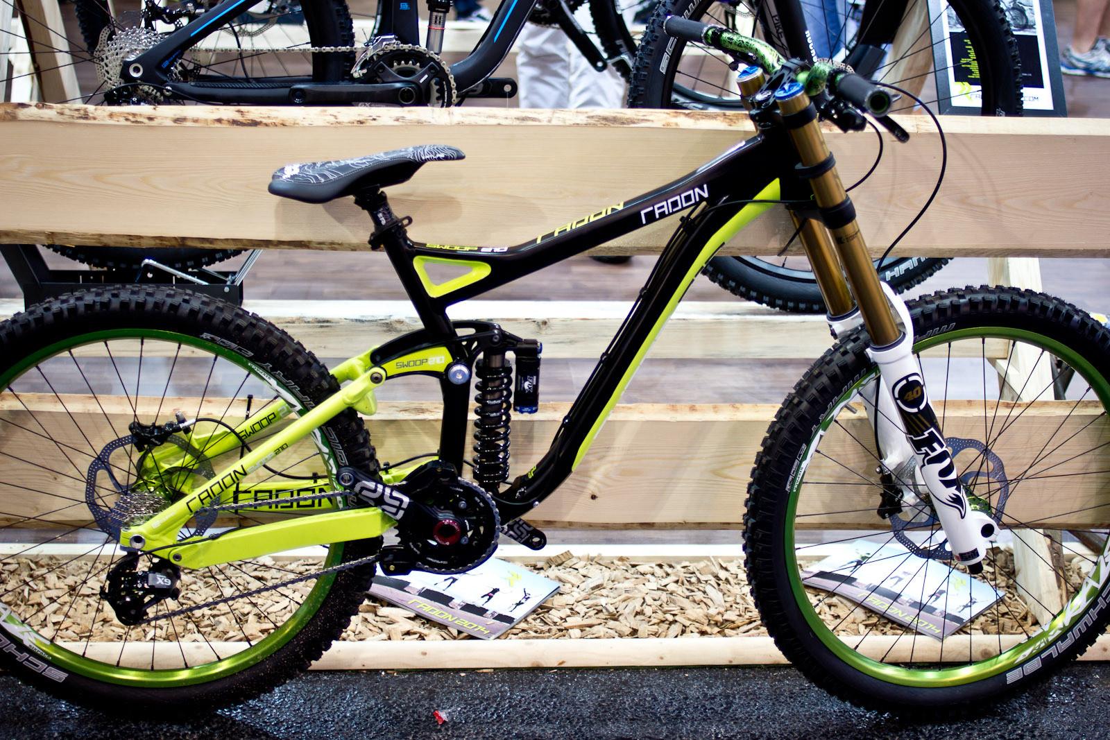 2014 Radon Swoop 210 DH Bike - 2014 Downhill Bikes at Eurobike 2013 - Mountain Biking Pictures - Vital MTB