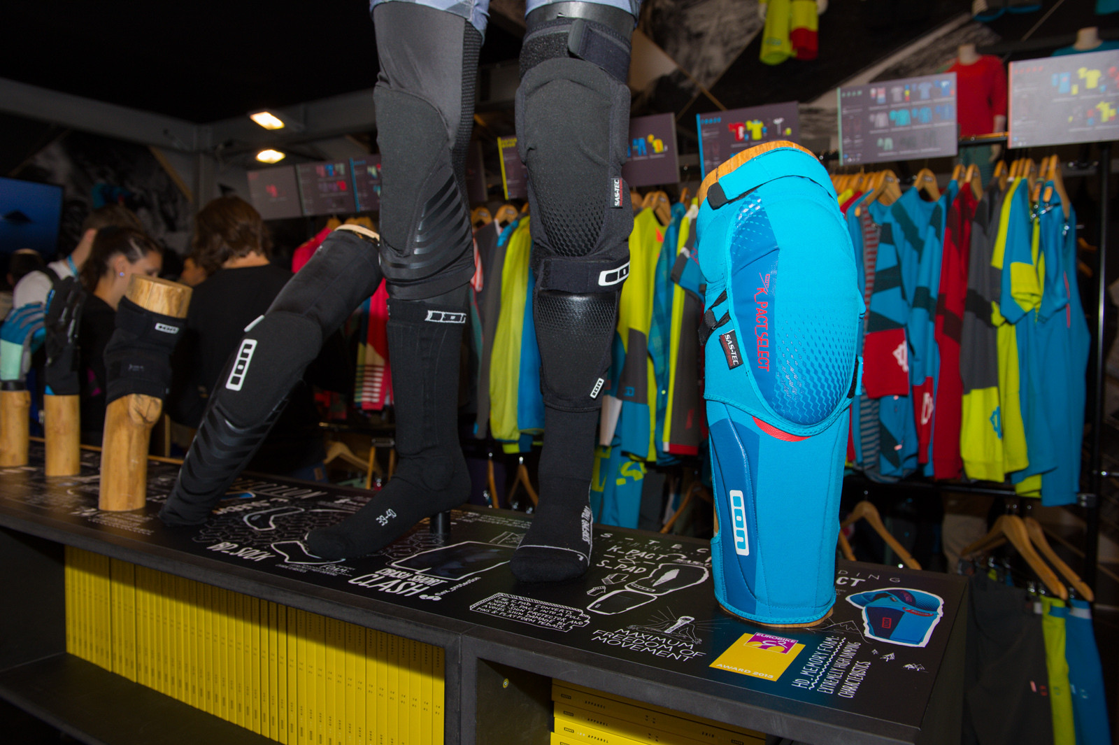 ION K_Pact_Select Pads - 2014 Mountain Bike Apparel & Protection at Eurobike 2013 - Mountain Biking Pictures - Vital MTB