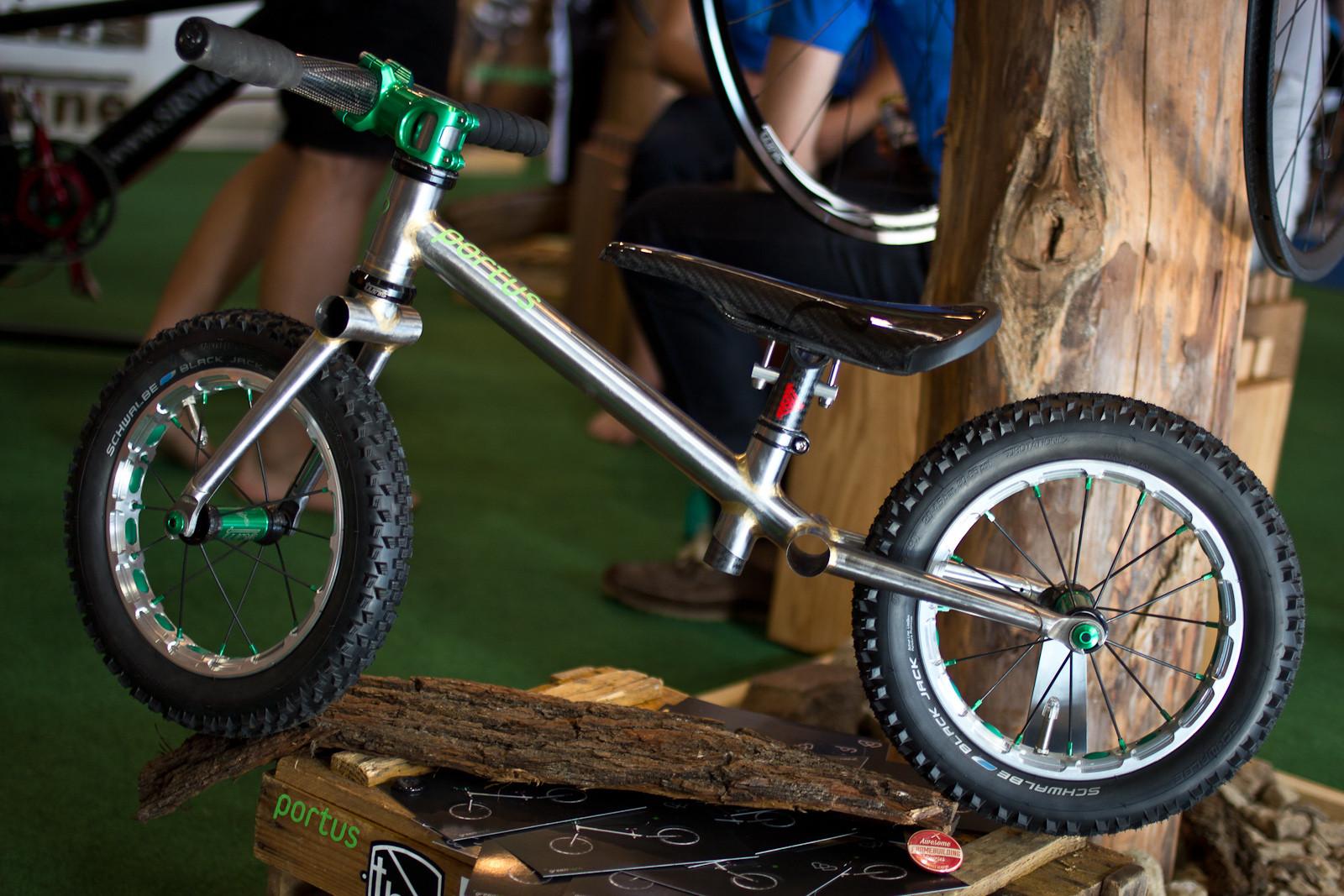Portus Cycles Greenhorn Push Bike - 2014 Kids Bikes at Eurobike 2013 - Mountain Biking Pictures - Vital MTB