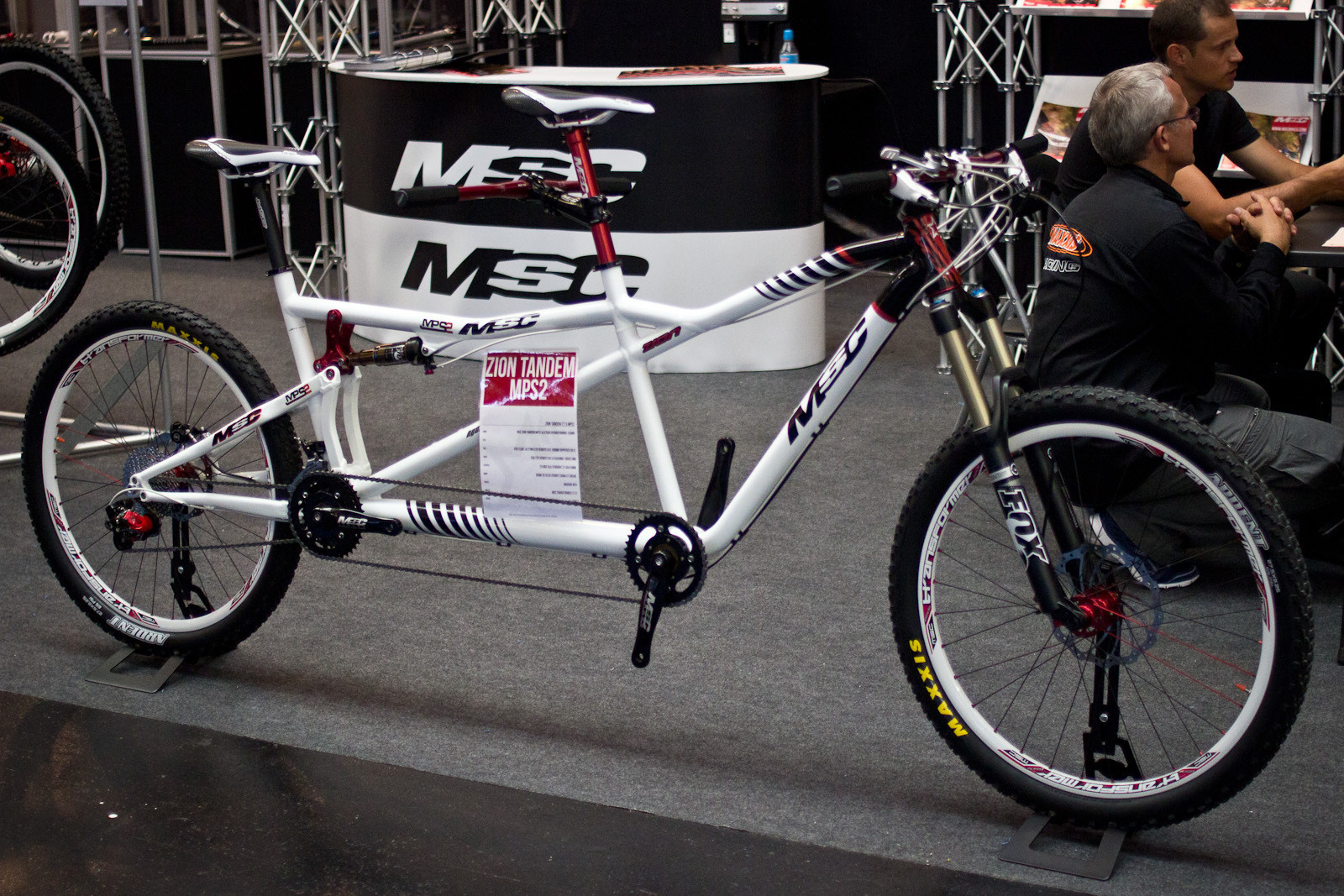 2014 MSC Zion Tandem MPS2 - 2014 Trail, All-Mountain & Enduro Bikes at Eurobike 2013 - Mountain Biking Pictures - Vital MTB