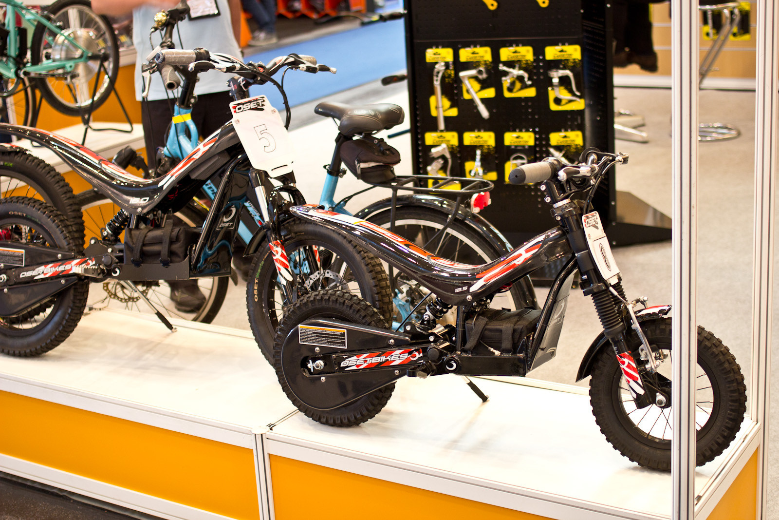 OSET Miniature Trials Motos - 2014 Kids Bikes at Eurobike 2013 - Mountain Biking Pictures - Vital MTB