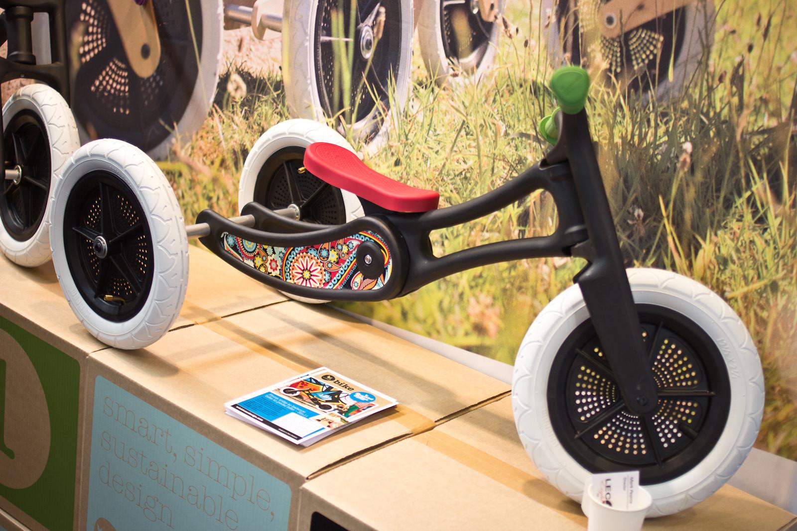 Wishbone 3-in-1: Trike Mode - 2014 Kids Bikes at Eurobike 2013 - Mountain Biking Pictures - Vital MTB