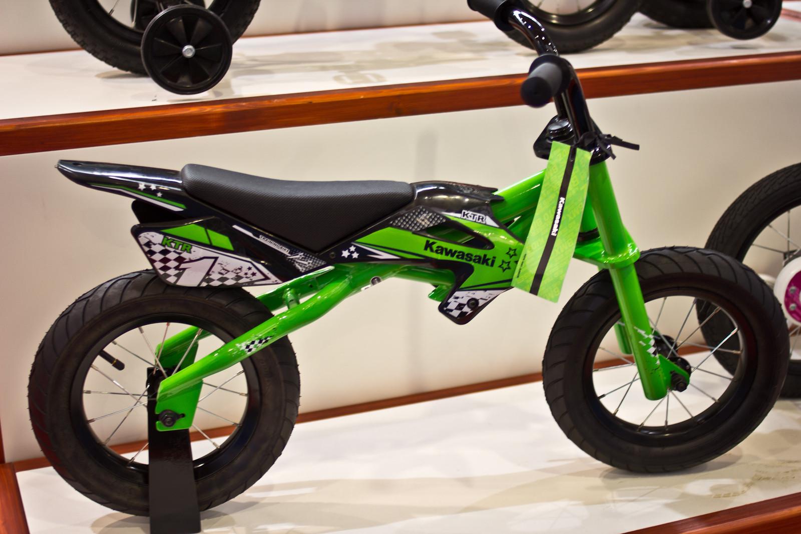 KTR Kawasaki Push Bike - 2014 Kids Bikes at Eurobike 2013 - Mountain Biking Pictures - Vital MTB