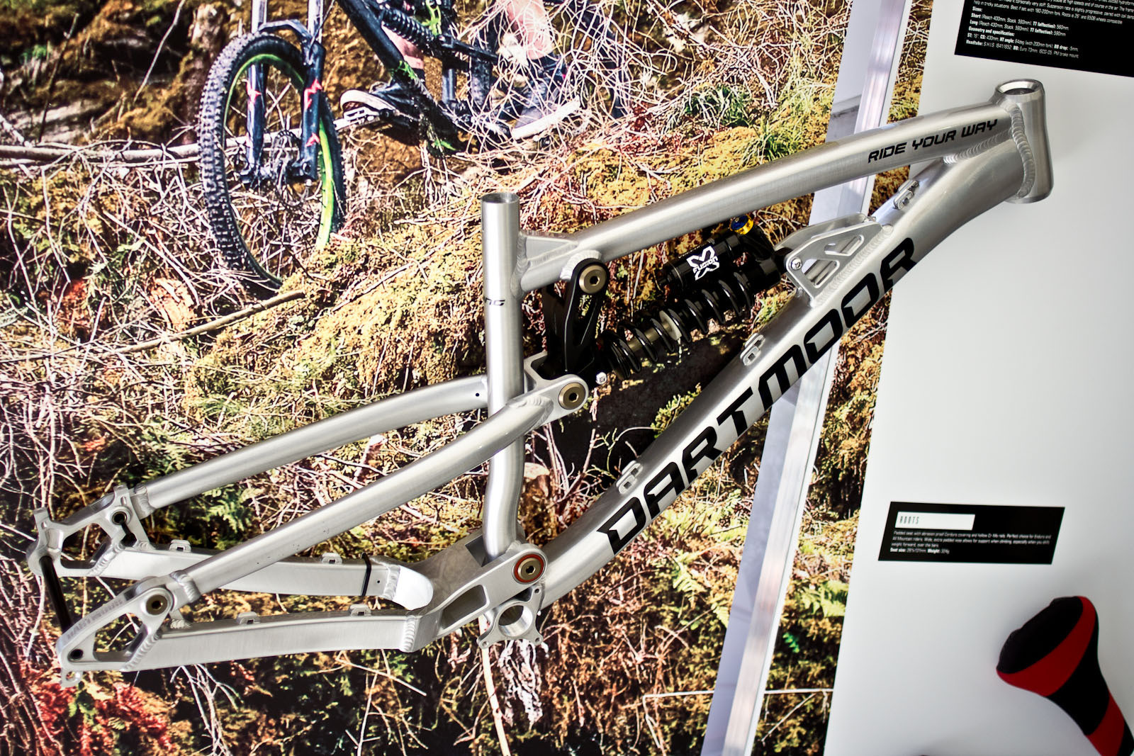 2014 Dartmoor Roots DH Frame - 2014 Downhill Bikes at Eurobike 2013 - Mountain Biking Pictures - Vital MTB