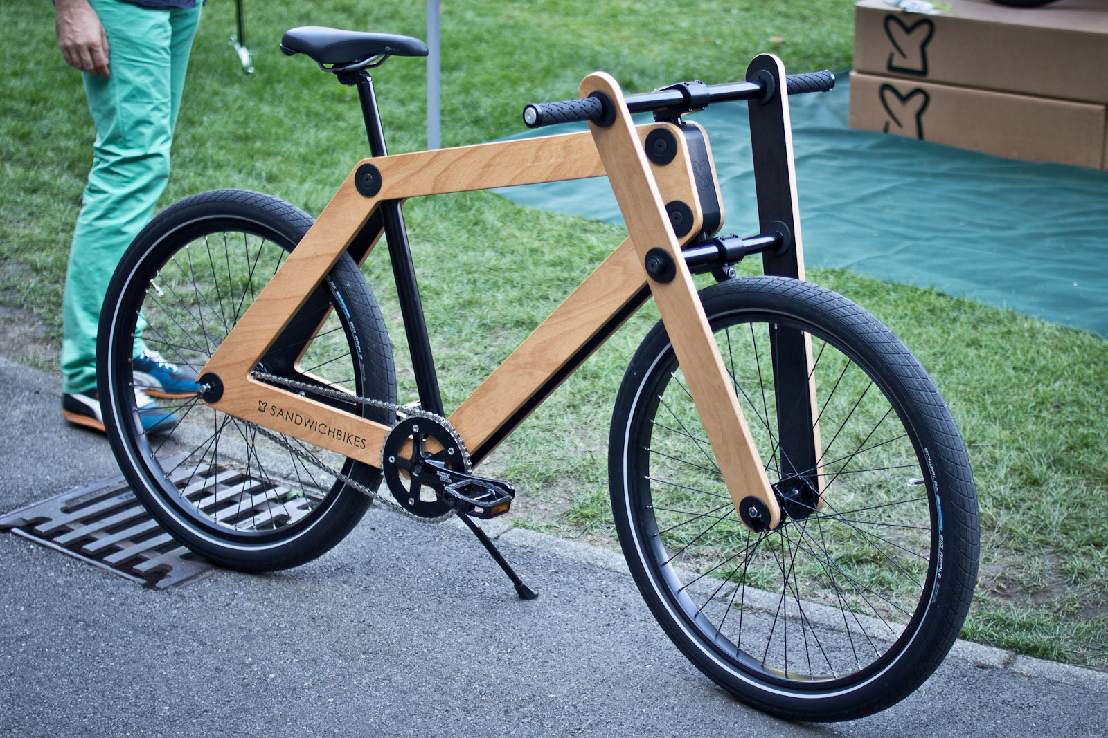 Sandwich Bike - Randoms at Eurobike 2013 - Mountain Biking Pictures - Vital MTB