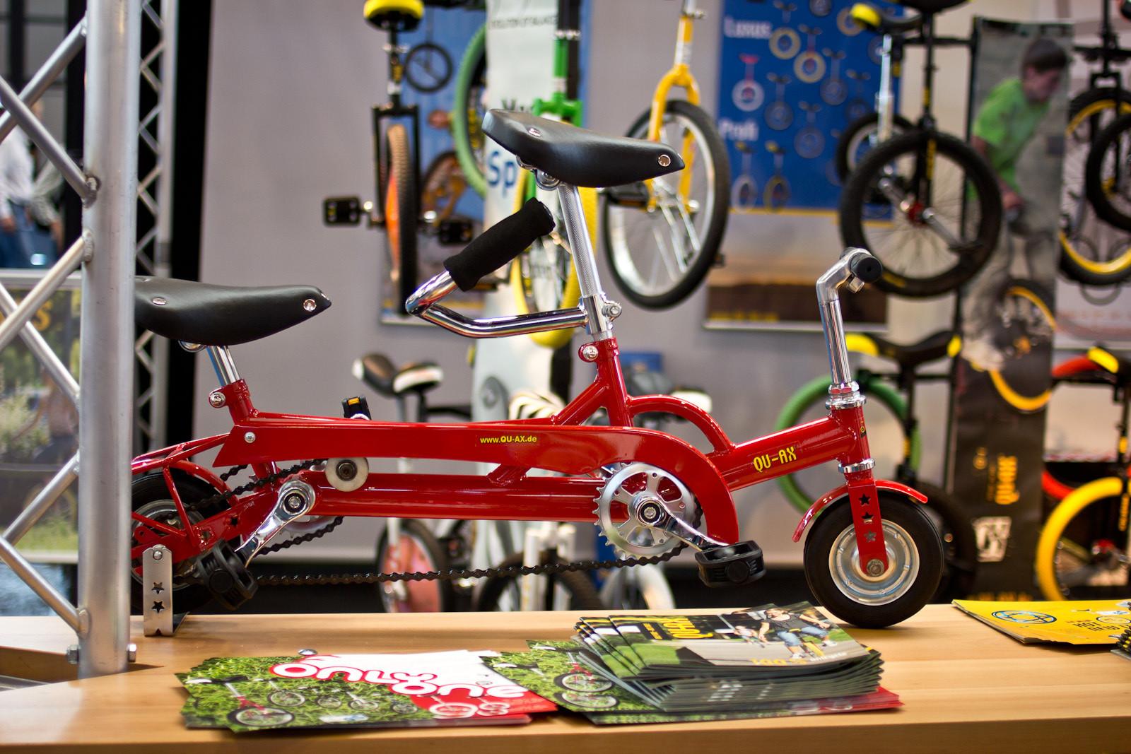 QU-AX 6-Inch Mini Tandem - 2014 Kids Bikes at Eurobike 2013 - Mountain Biking Pictures - Vital MTB