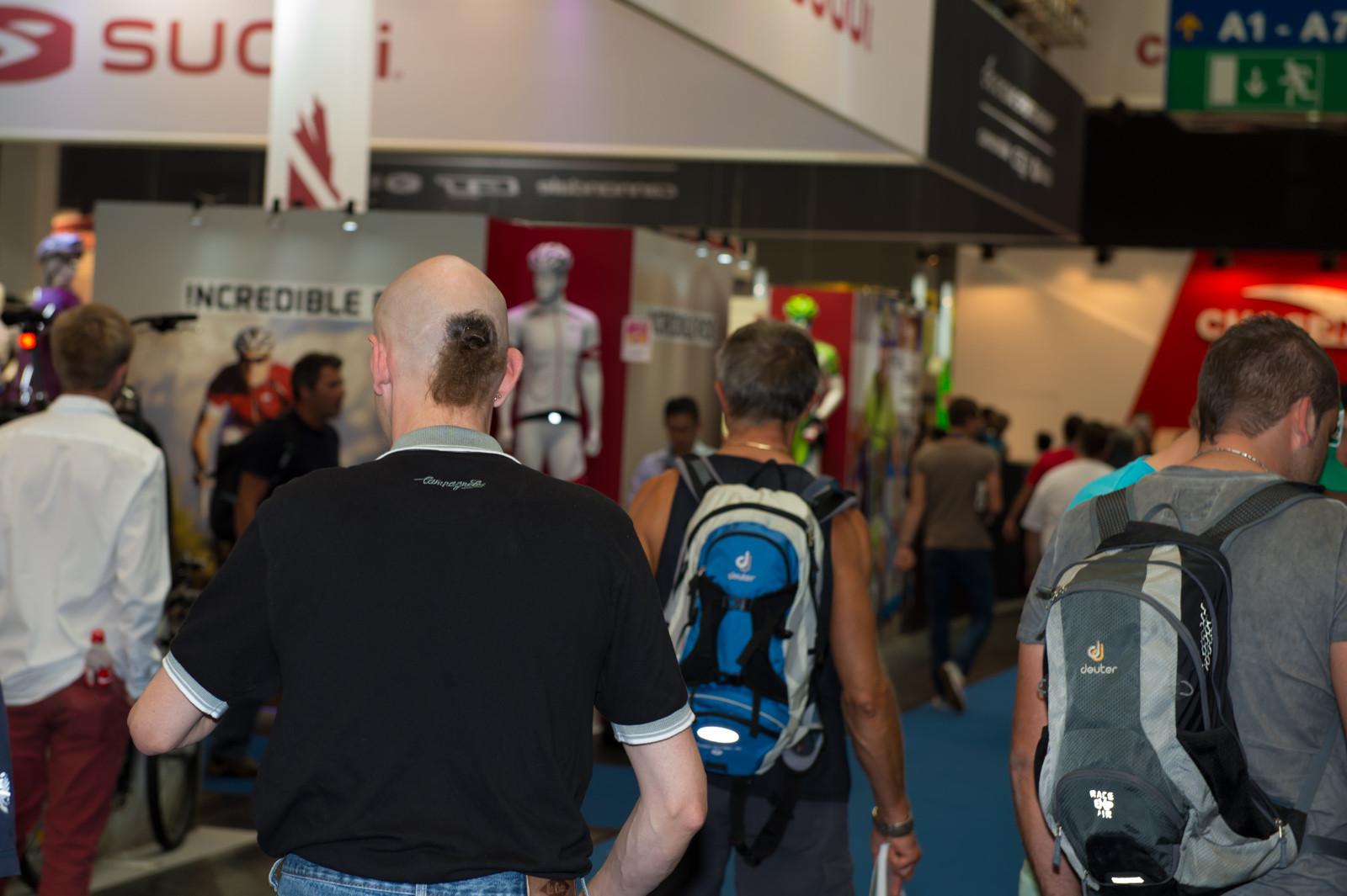 Euro Hair - Randoms at Eurobike 2013 - Mountain Biking Pictures - Vital MTB