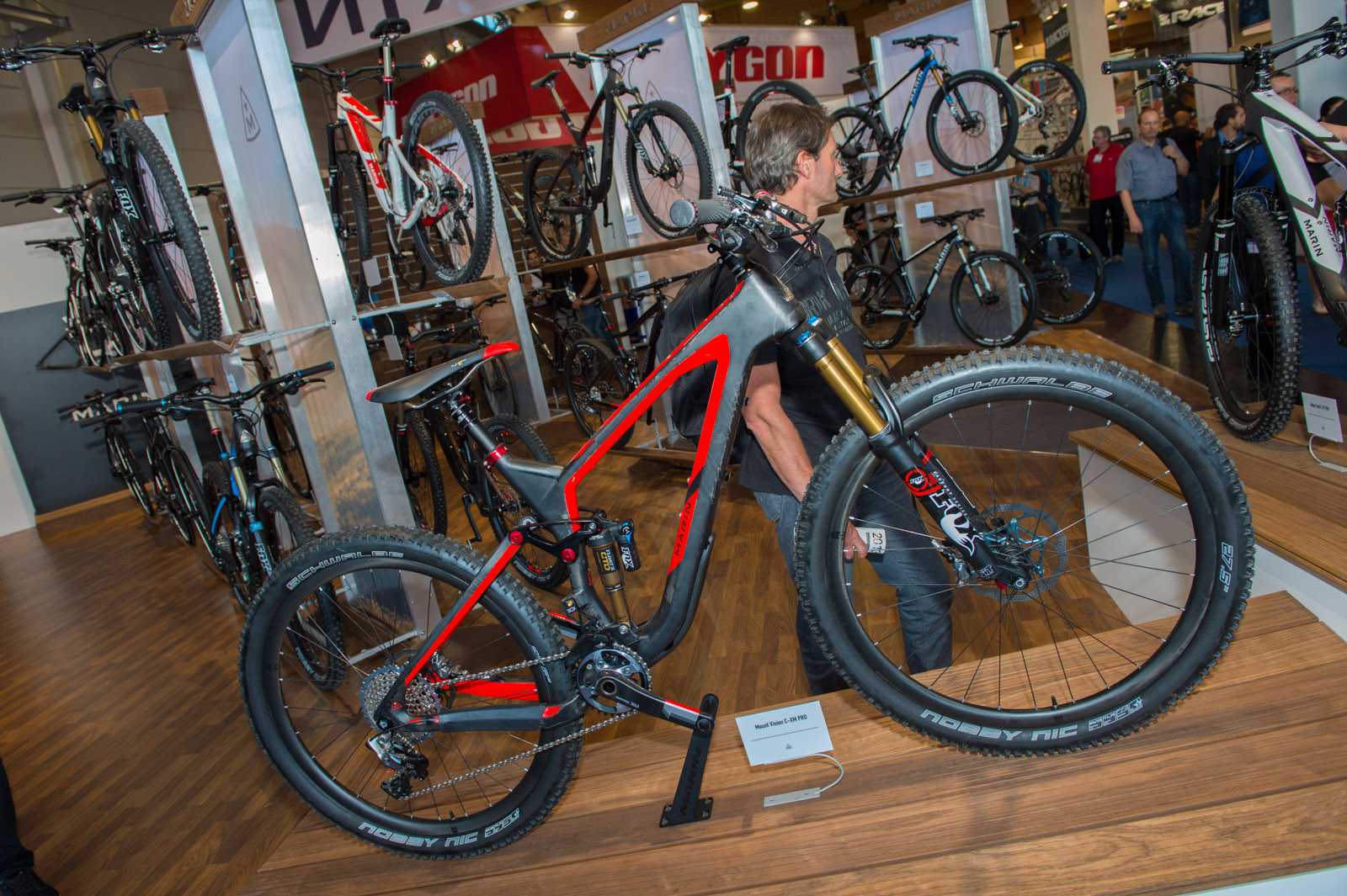 2014 Marin Mount Vision Pro - 2014 Trail, All-Mountain & Enduro Bikes at Eurobike 2013 - Mountain Biking Pictures - Vital MTB