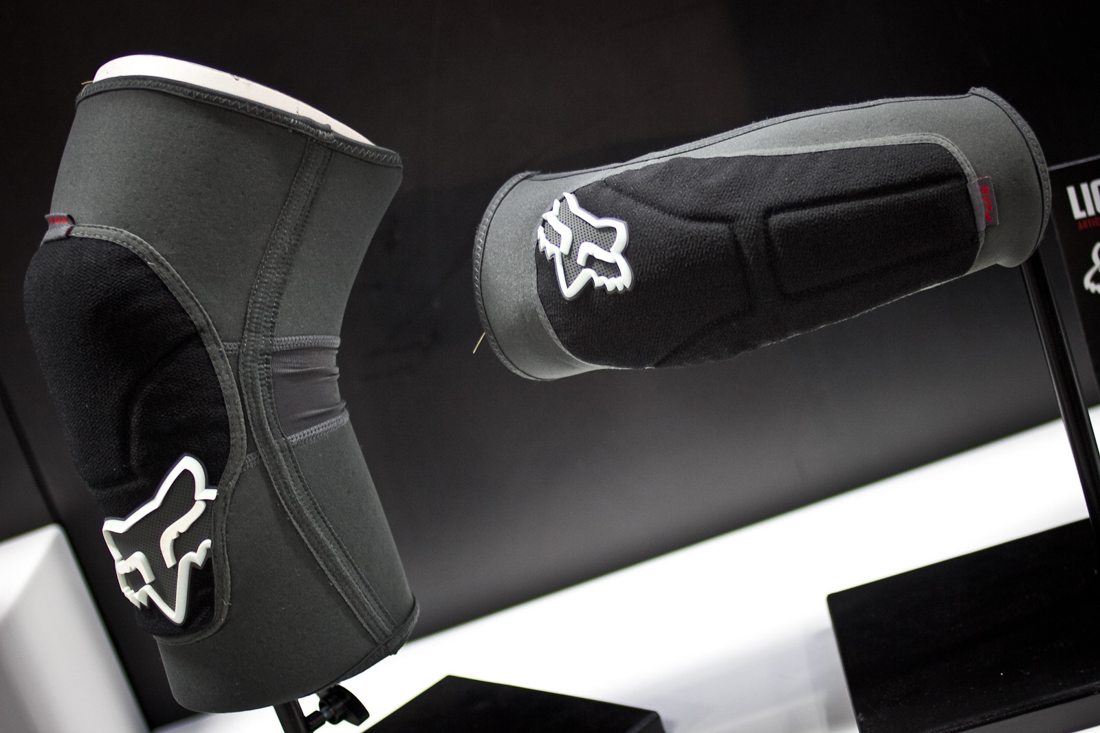 2014 Fox Racing Launch Enduro Knee and Elbow Pads - INTERBIKE: Part 2 - Some of the Latest and Greatest for 2014 - Mountain Biking Pictures - Vital MTB