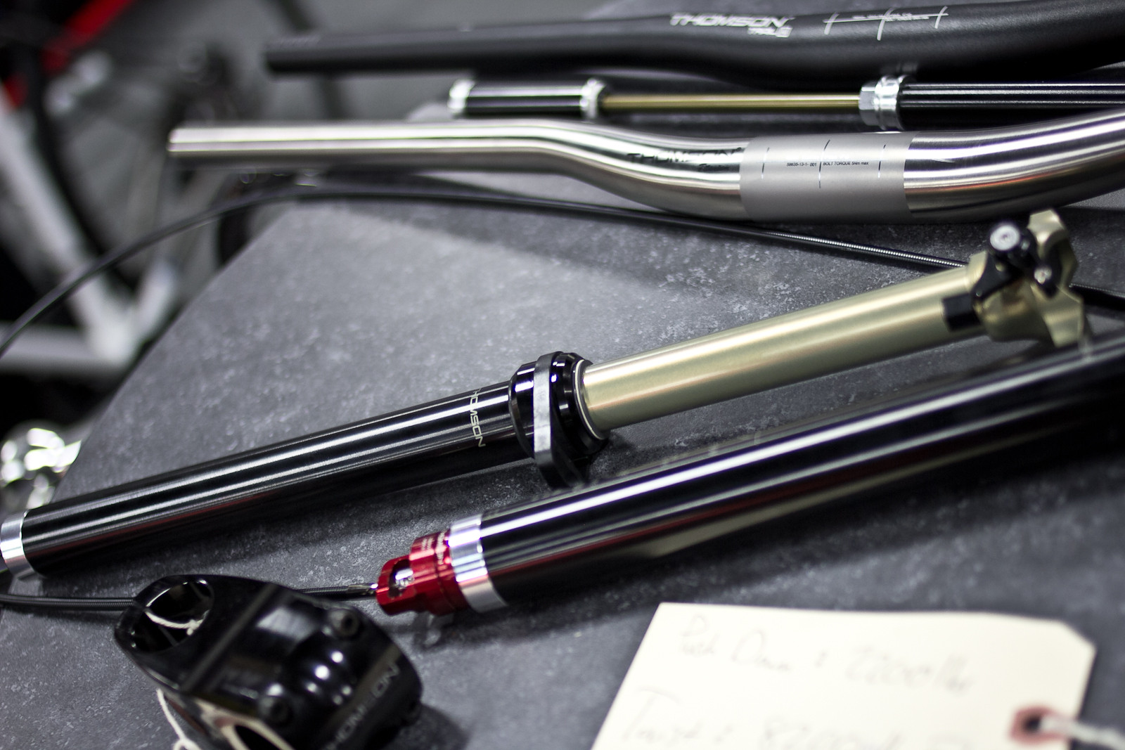 Prototype 27.2mm Thomson Elite Dropper Post - INTERBIKE: Part 2 - Some of the Latest and Greatest for 2014 - Mountain Biking Pictures - Vital MTB