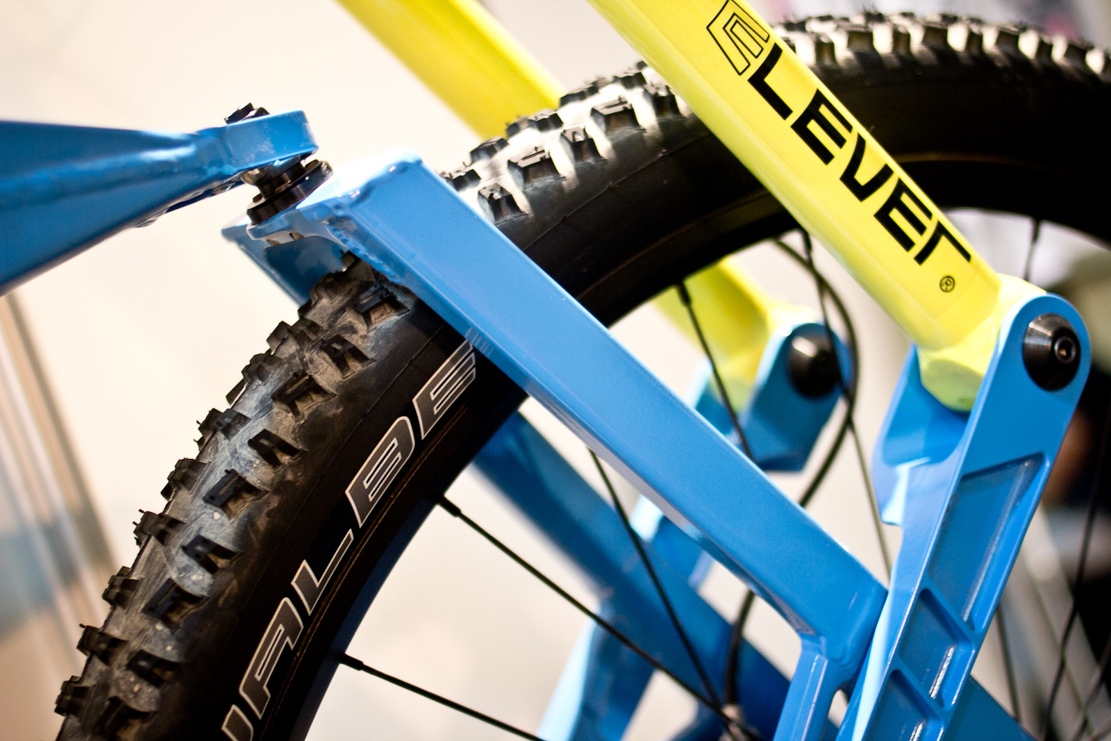 Scurra Hard Enduro Fork and Frame - INTERBIKE: Part 2 - Some of the Latest and Greatest for 2014 - Mountain Biking Pictures - Vital MTB