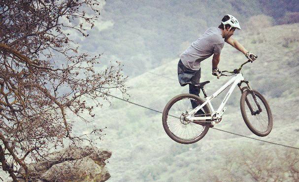 #ThrowbackThursday - Dirt Jumping with One Leg - bturman - Mountain Biking Pictures - Vital MTB