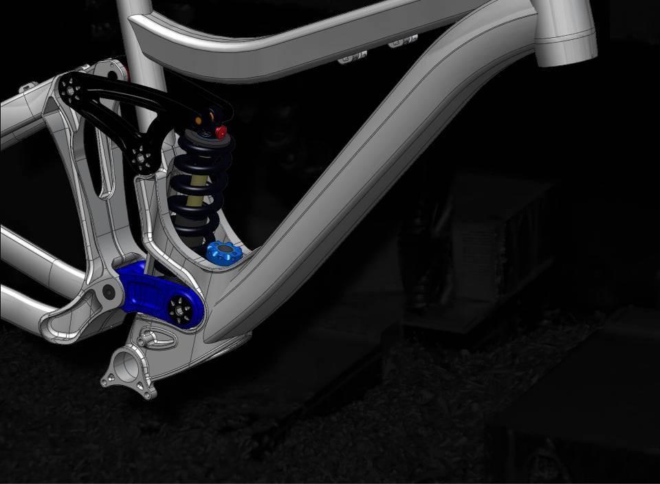 DW-Link suspension design - 2011 Pivot Phoenix DH Bike - Mountain Biking Pictures - Vital MTB
