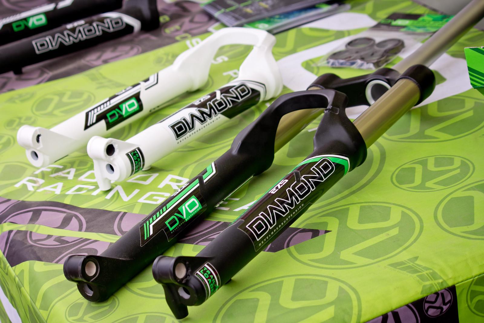 Prototype DVO Diamond Enduro Fork - Sea Otter Classic - 2014 Sea Otter Classic Pit Bits - 3rd Edition - Mountain Biking Pictures - Vital MTB